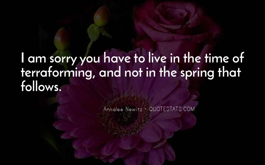 Spring Time Quotes #23066