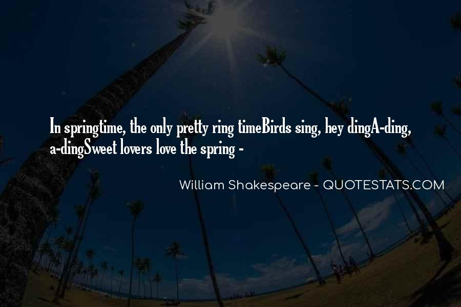 Spring Time Quotes #245064