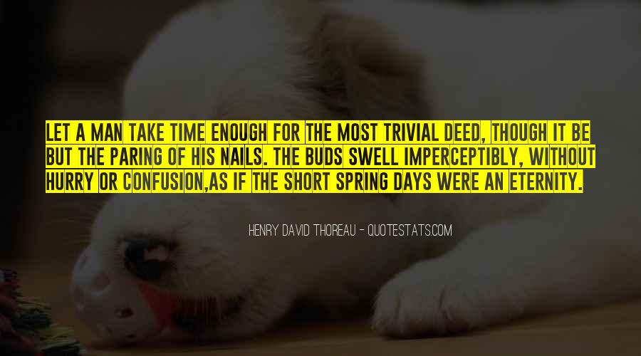 Spring Time Quotes #335487
