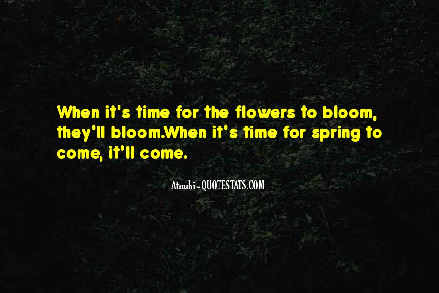 Spring Time Quotes #652451