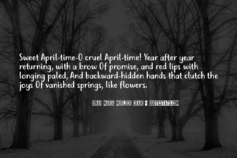 Spring Time Quotes #706570