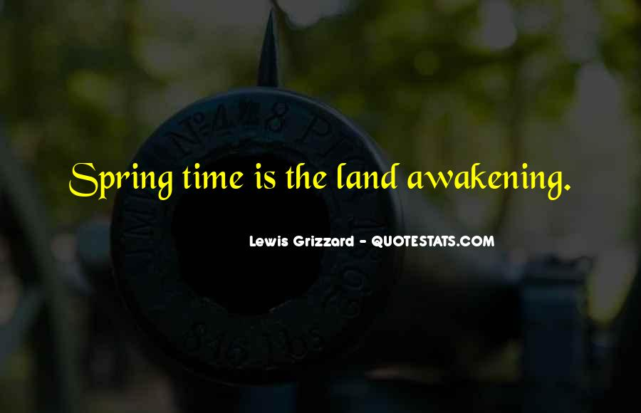 Spring Time Quotes #786727