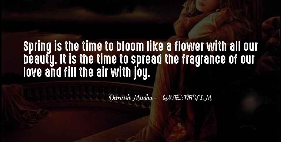 Spring Time Quotes #89152