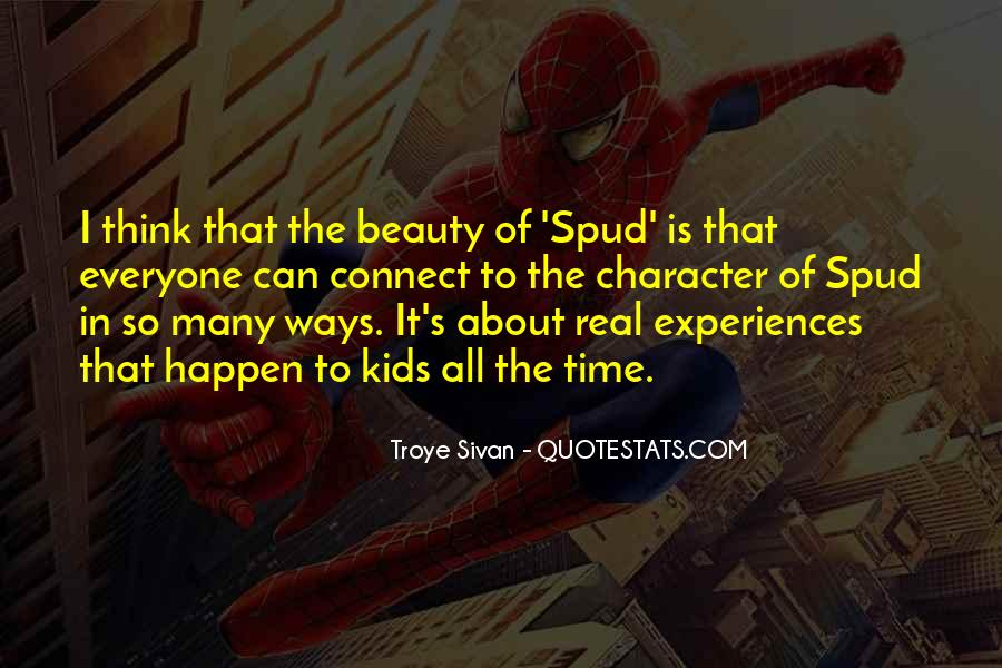 Spud Novel Quotes #34164
