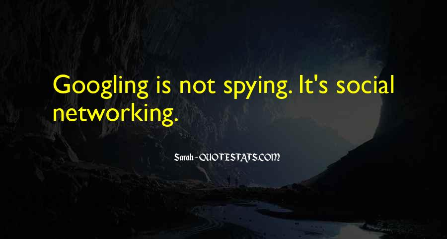 Spying On You Quotes #146368