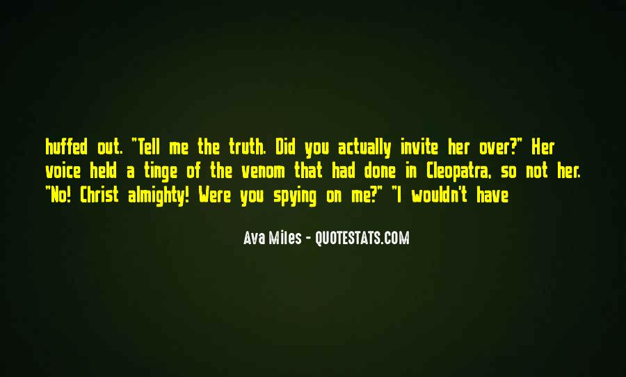 Spying On You Quotes #1640158