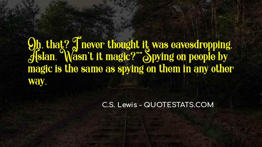 Spying On You Quotes #263104
