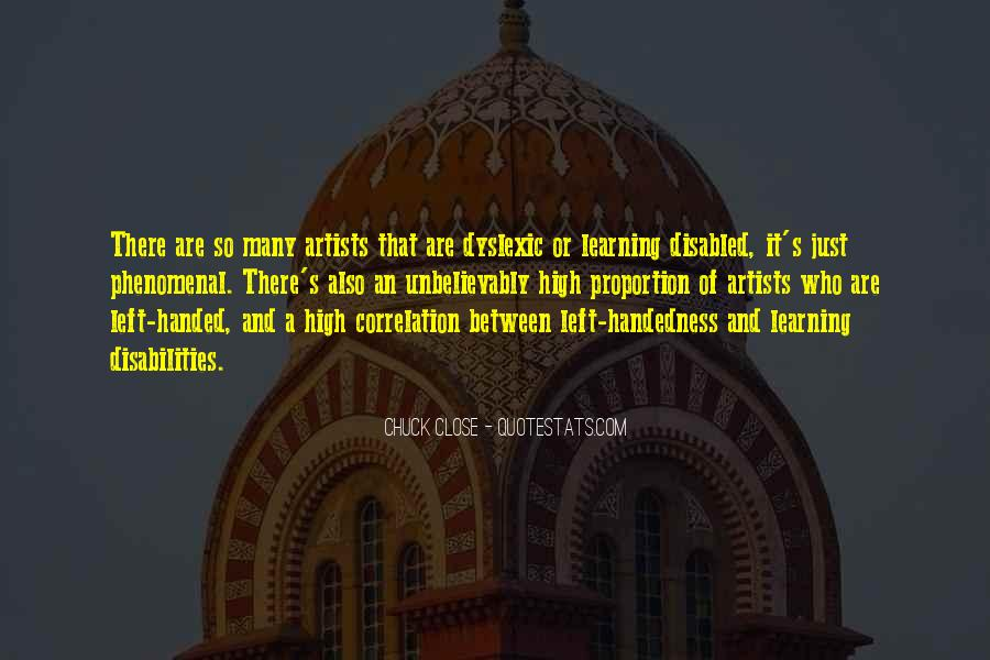 Quotes About Chuck Close #1278061