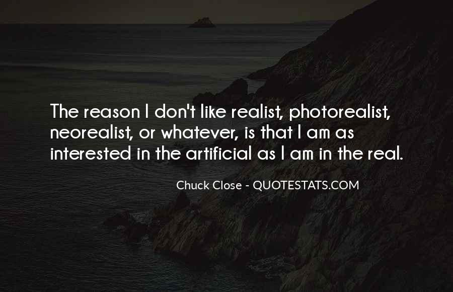 Quotes About Chuck Close #662706