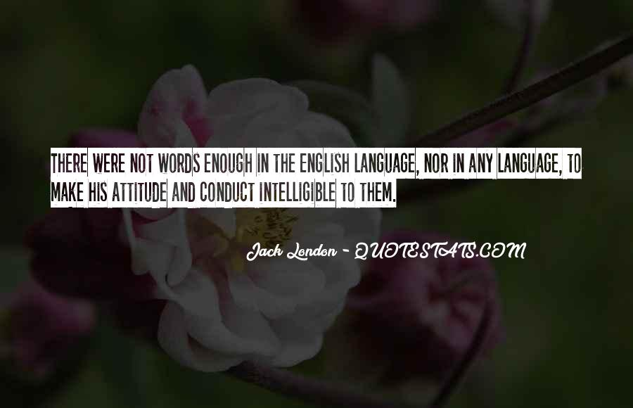 Quotes About Attitude In English #1235539