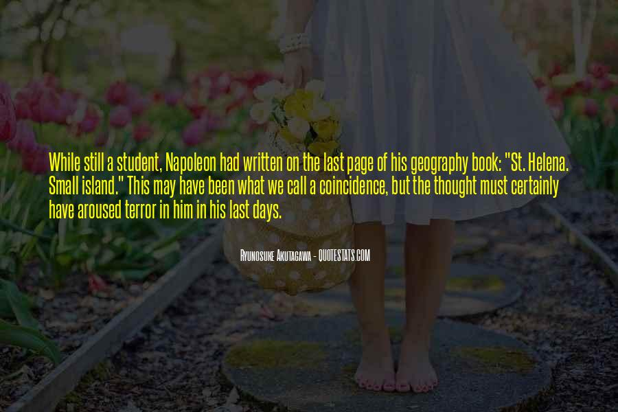 St Helena Quotes #247053