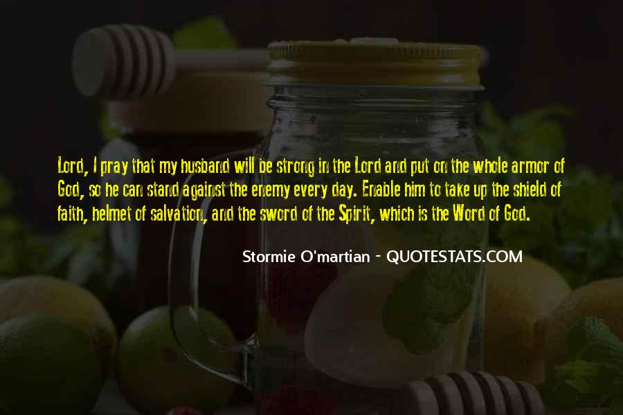 Quotes About Armor Of God #1542083