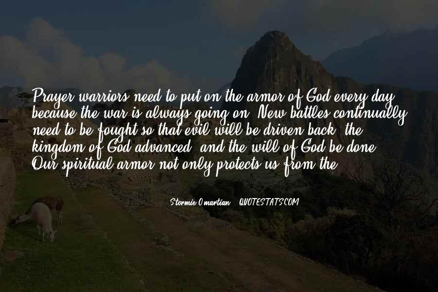 Quotes About Armor Of God #442546