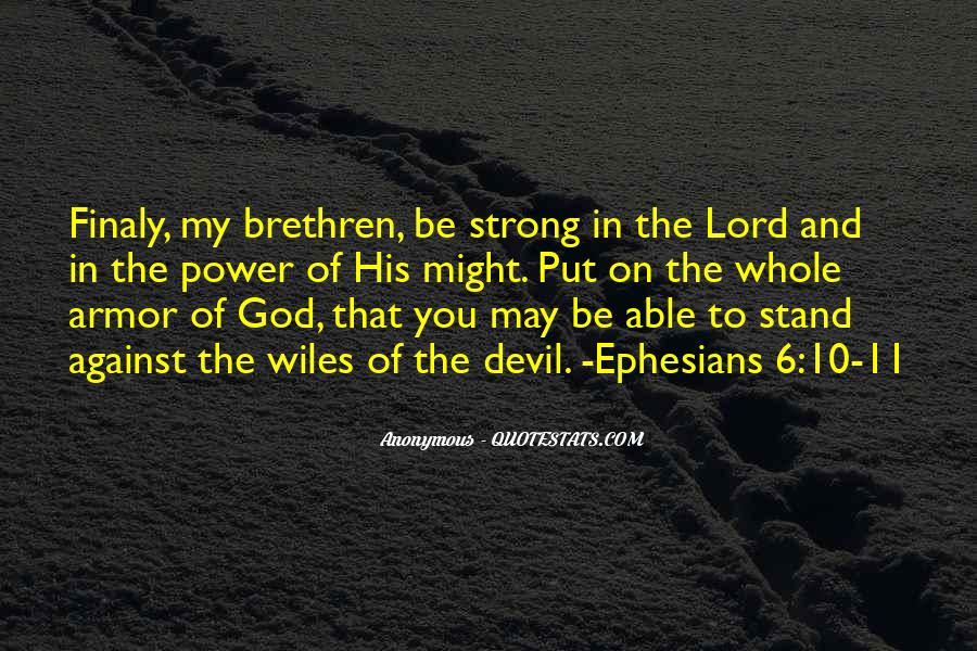 Quotes About Armor Of God #67093