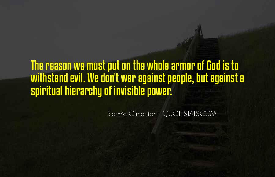 Quotes About Armor Of God #773587
