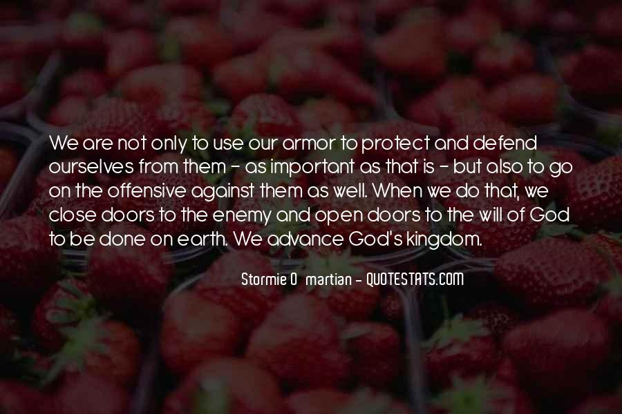 Quotes About Armor Of God #996574