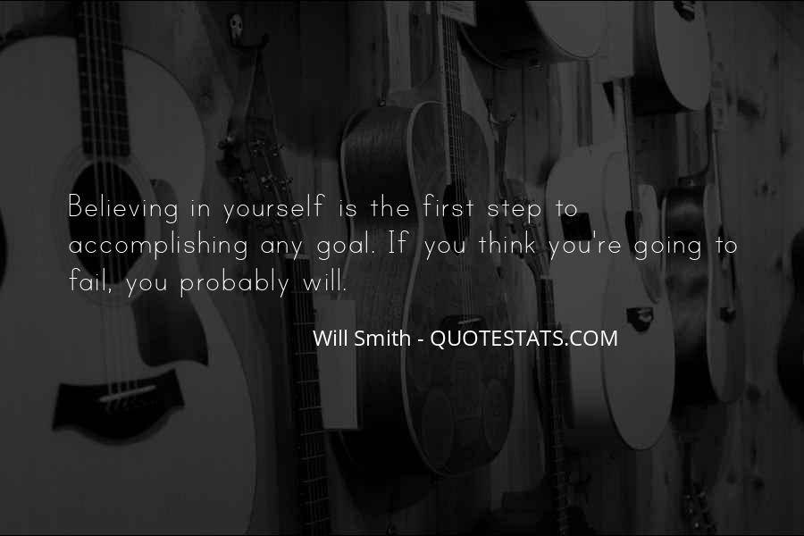 Quotes About Accomplishing Things On Your Own #243289