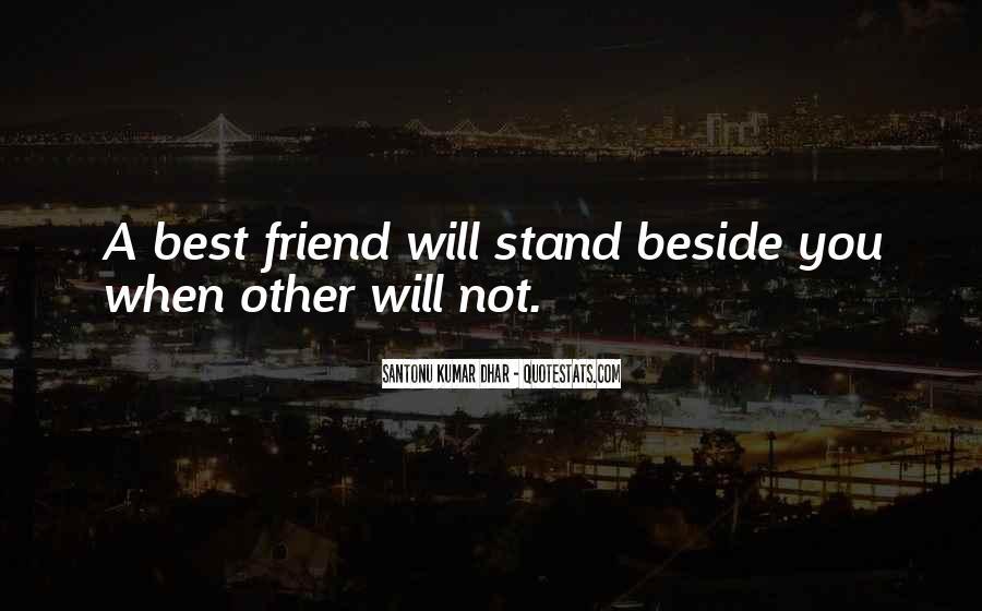 Stand Beside Me Quotes #129089