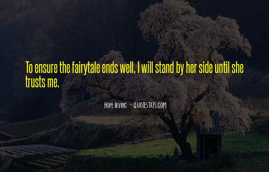 Stand By My Side Love Quotes #1293128