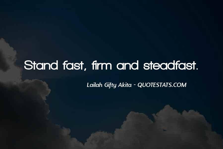 Stand Firm In Faith Quotes #1013223