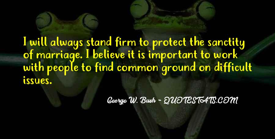 Stand Firm In Faith Quotes #1207144