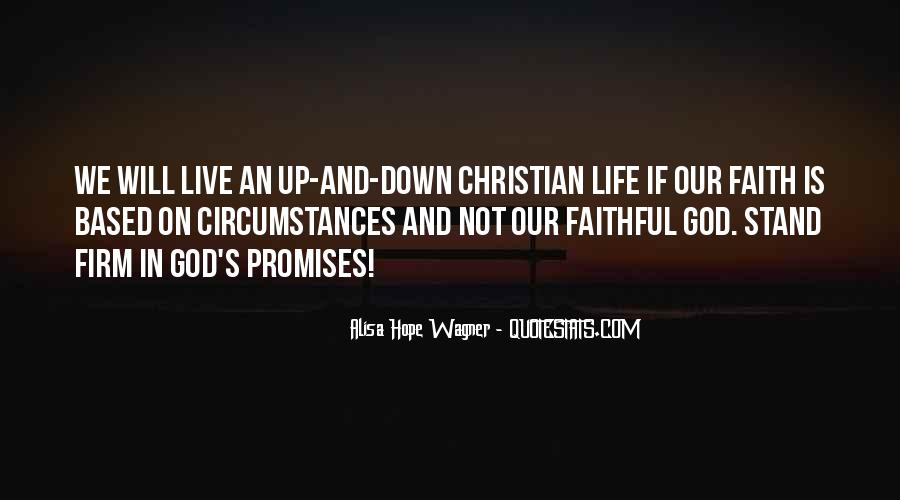 Stand Firm In Faith Quotes #1456967