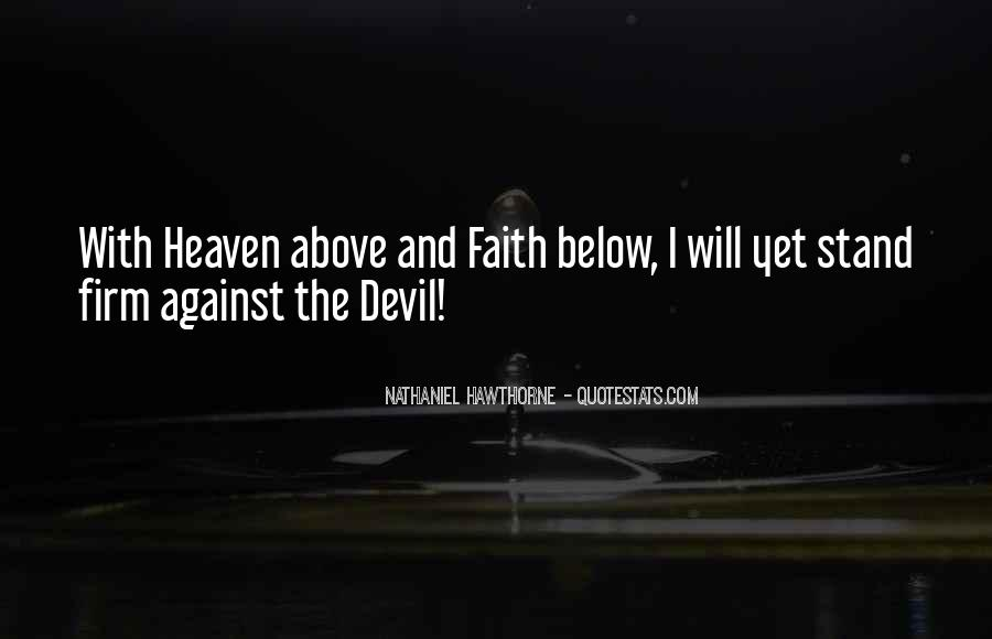 Stand Firm In Faith Quotes #1481959