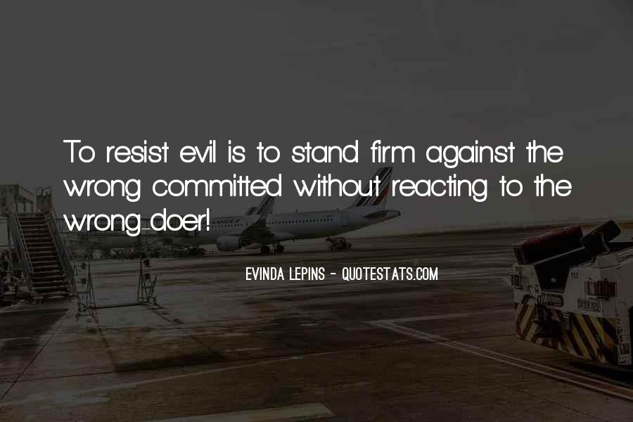 Stand Firm In Faith Quotes #1655795