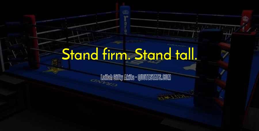 Stand Firm In Faith Quotes #650440