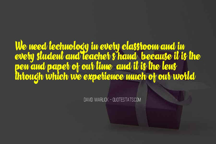 Quotes About Student Experience #132924