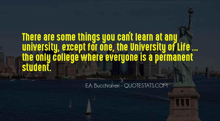 Quotes About Student Experience #166440