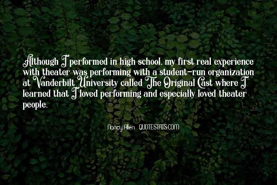 Quotes About Student Experience #214339