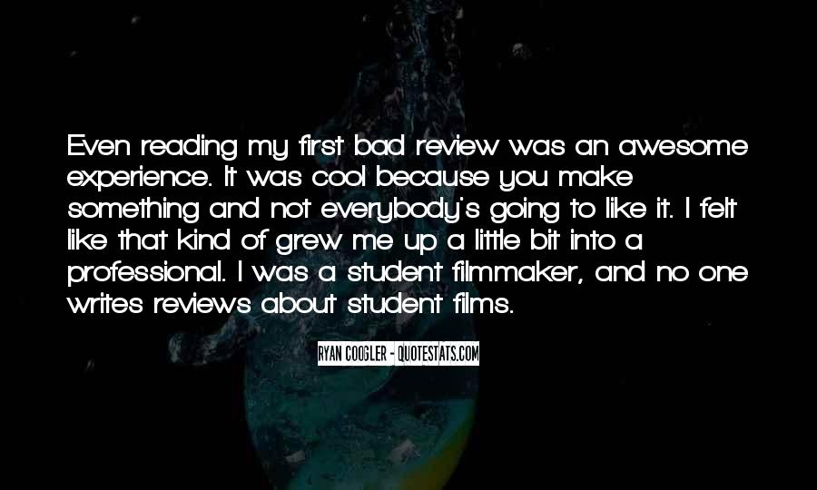 Quotes About Student Experience #235947