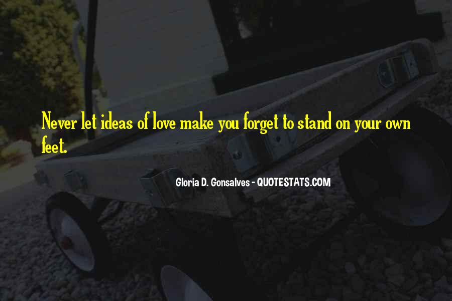 Stand On Own Feet Quotes #1152760