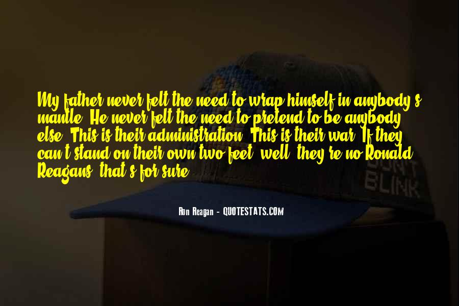 Stand On Own Feet Quotes #1273722