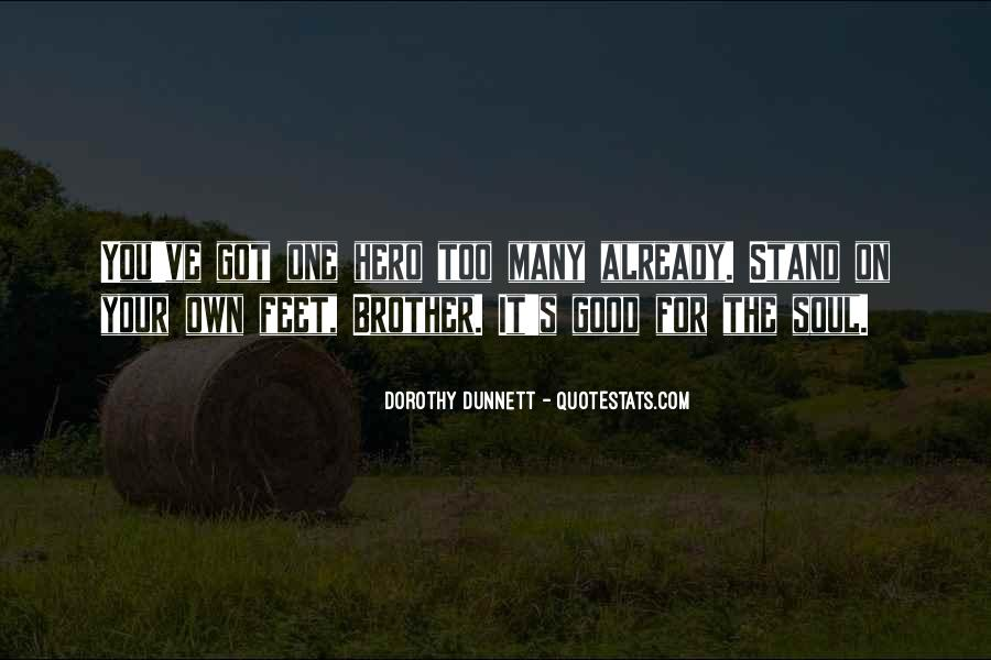 Stand On Own Feet Quotes #216589