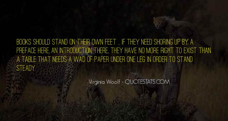 Stand On Own Feet Quotes #226732