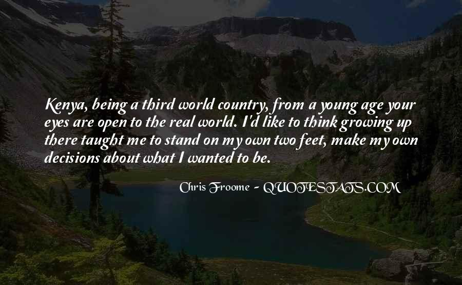 Stand On Own Feet Quotes #644093