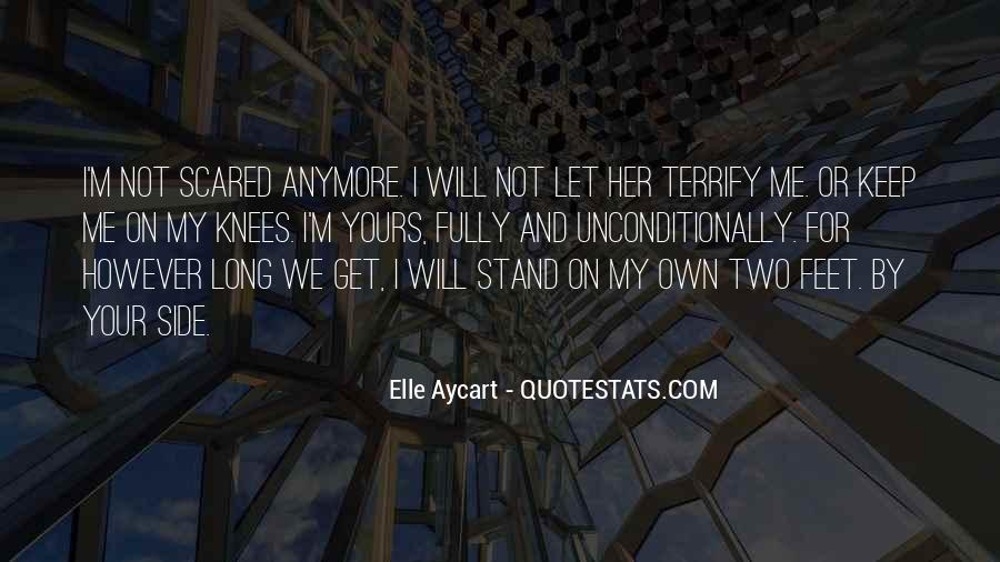 Stand On Own Feet Quotes #748683