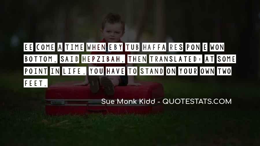 Stand On Two Feet Quotes #1114378