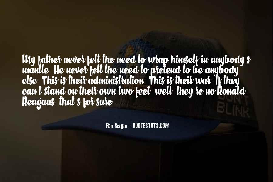 Stand On Two Feet Quotes #1273722