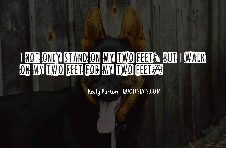 Stand On Two Feet Quotes #19416