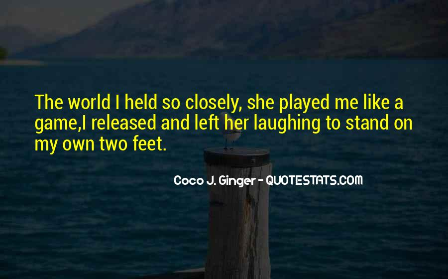 Stand On Two Feet Quotes #211141