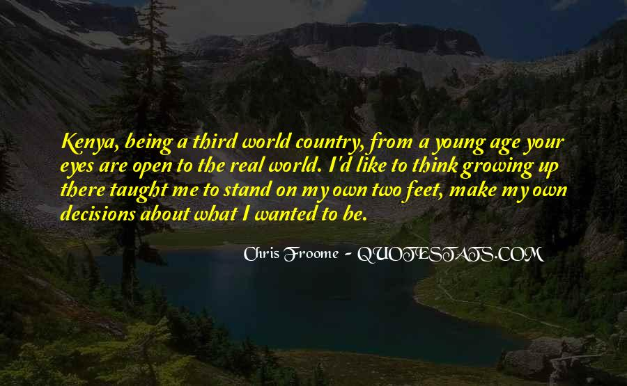 Stand On Two Feet Quotes #644093
