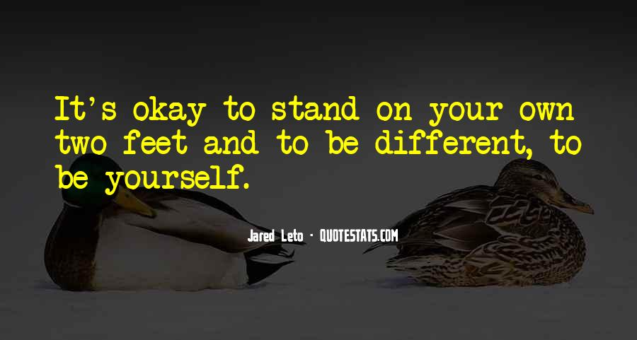 Stand On Two Feet Quotes #803527