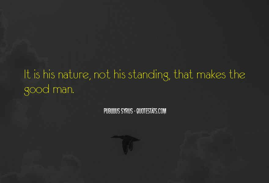 Standing By My Man Quotes #261115
