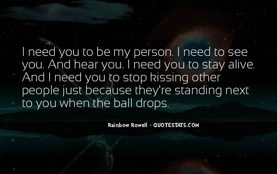 Standing Next To You Quotes #1167935