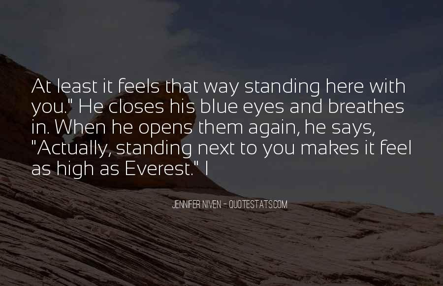 Standing Next To You Quotes #1781549