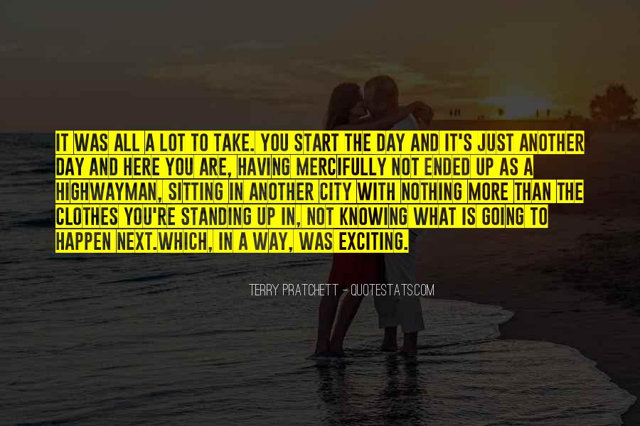 Standing Next To You Quotes #1863928