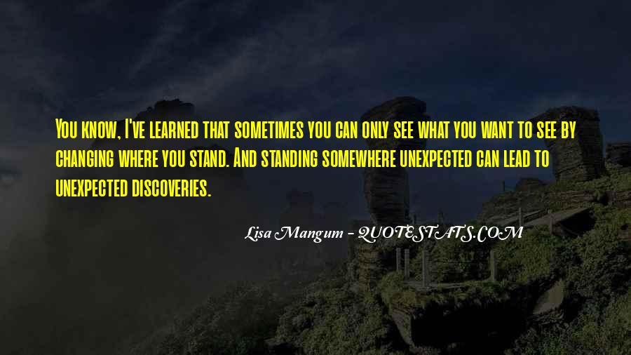 Standing On My Own Quotes #3349